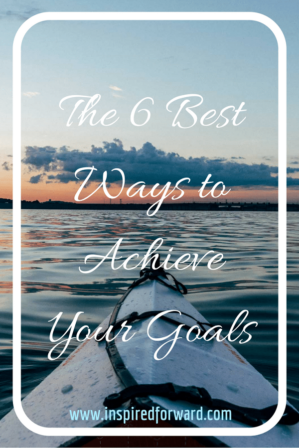 Achieve Your Goals Pinterest