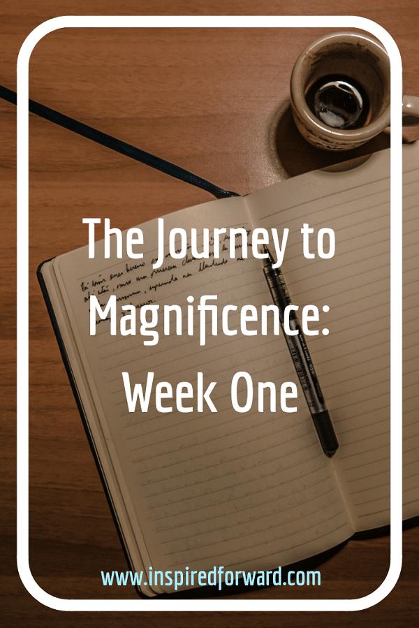 Journey Week One Pinterest
