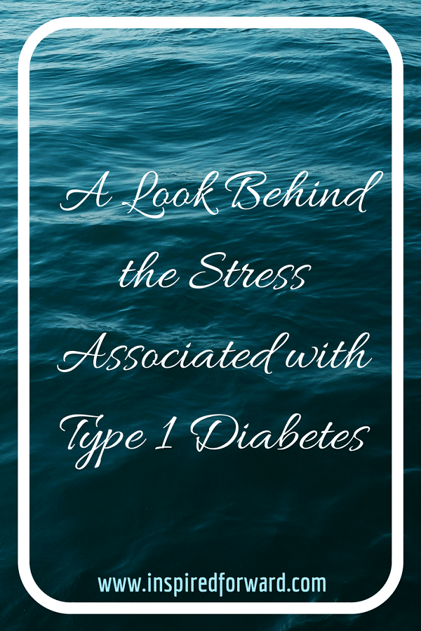 Stress + Type 1 Diabetes Pinterest v2