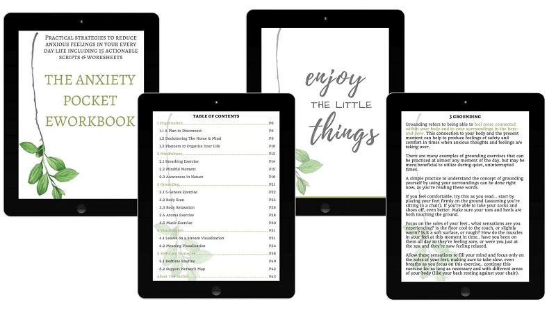 anxiety pocket eworkbook review