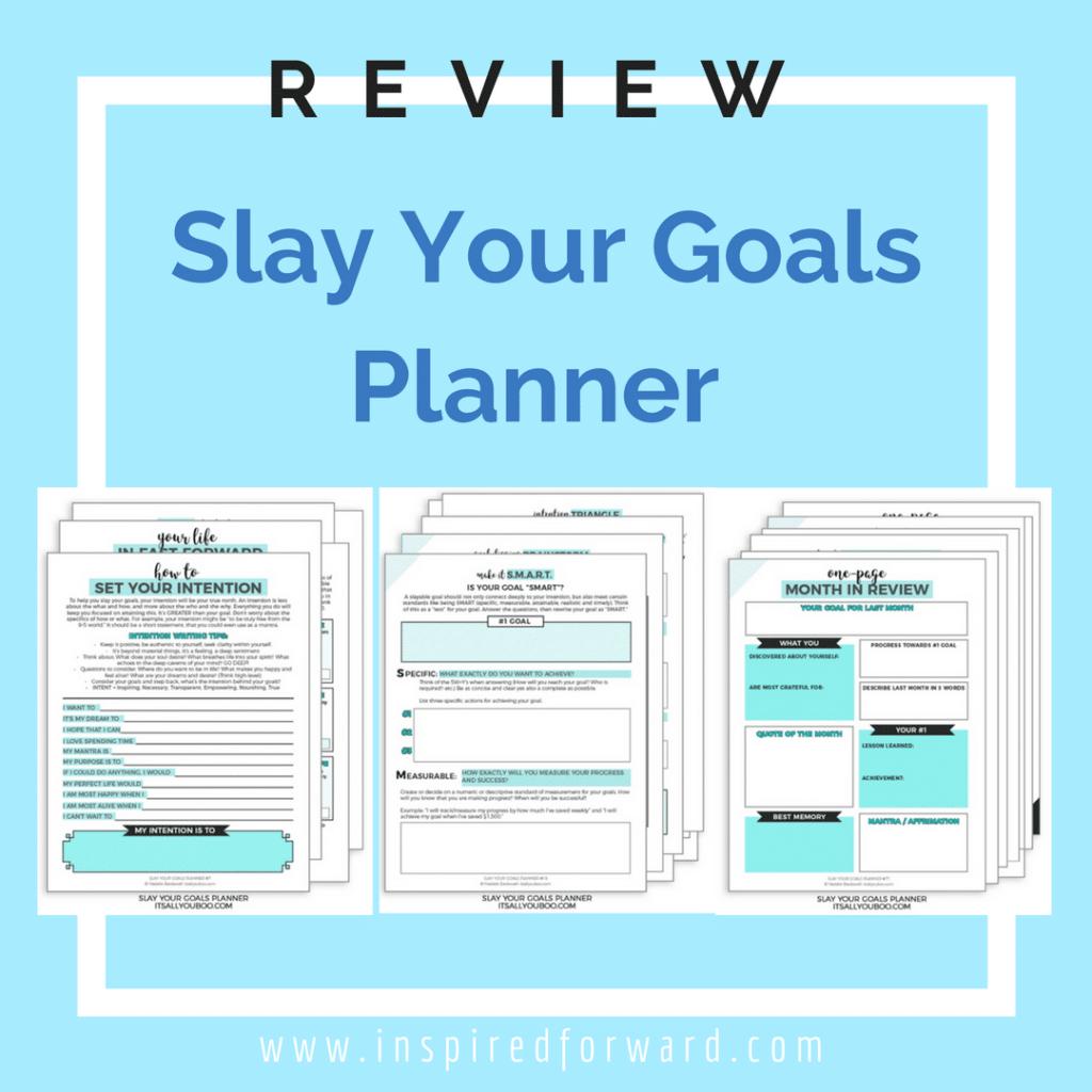 slay your goals planner instagram