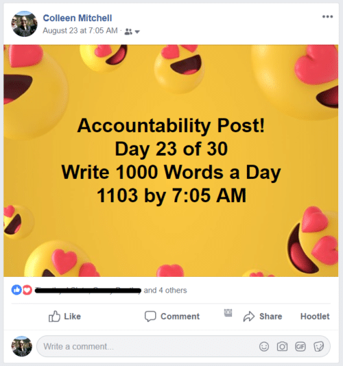 september's challenge accountability