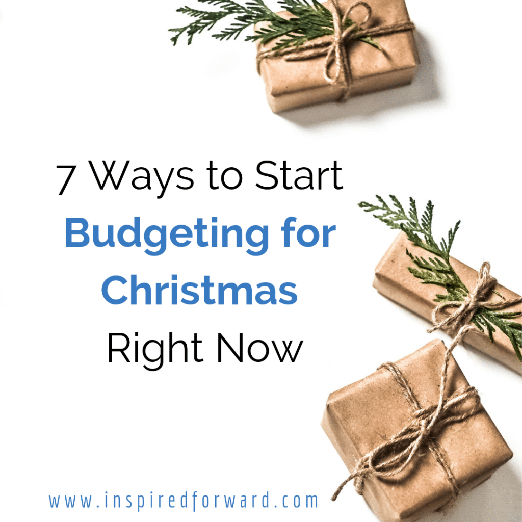 How many times do you get to December and realize there's not enough money set aside for presents? Start budgeting for Christmas right now, instead!