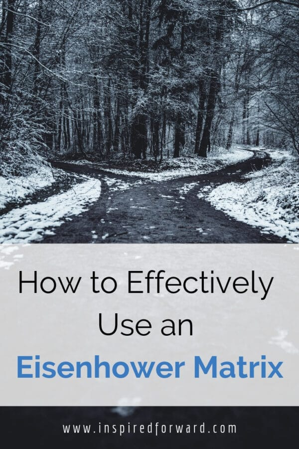 Have you ever wondered what an Eisenhower Matrix is? It's also known as the importance/urgency matrix and it's designed to help you make decisions.