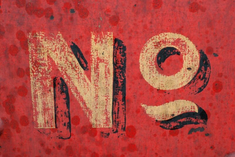"Saying ""no"" is hard for a lot of people. Is it hard for you? Here are three reasons it's a good idea to learn how to say ""no"" and stick to your boundaries."