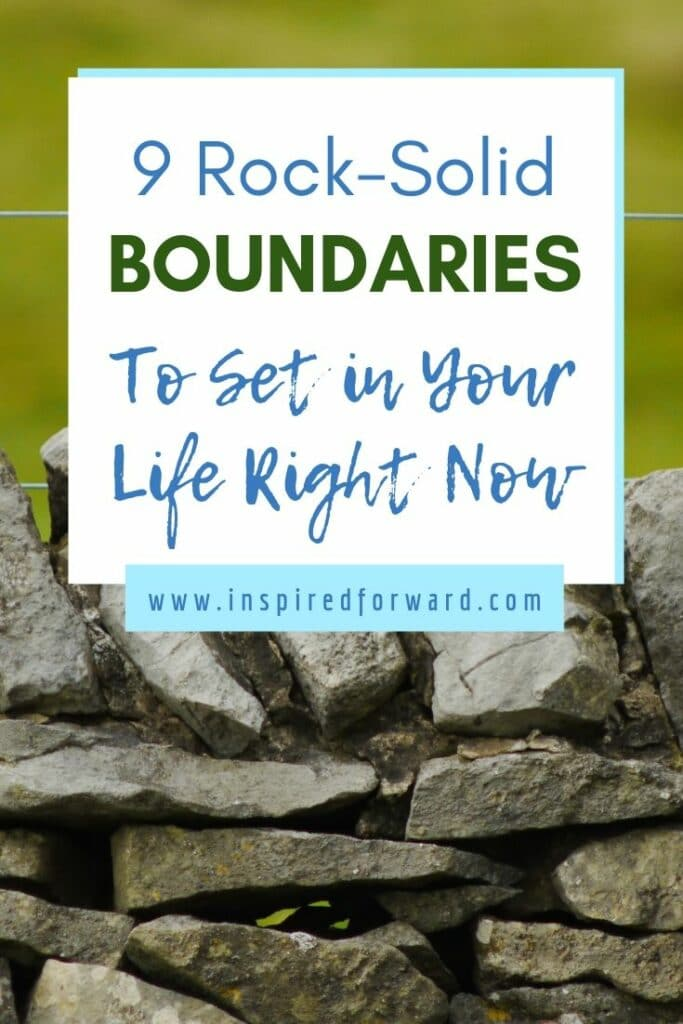 Are you looking for some rock-solid boundaries to implement? Learn how to take back your autonomy with these nine examples—see if any resonate with you.