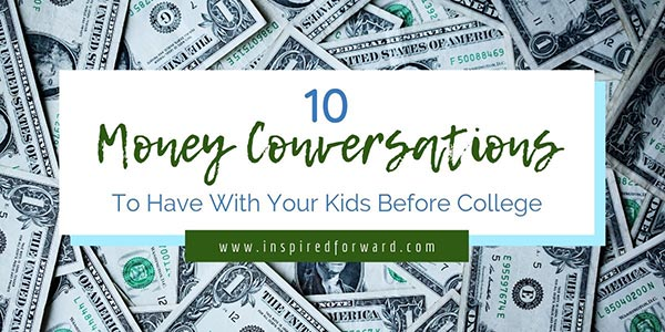 Do you talk to your kids about money? Are you having those important money conversations so they know how to handle their finances? Start with these ten.