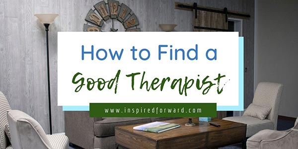 Therapists are human; some are good at it and some... Aren't. Confused about how to find a good therapist? Here's the process I went through.