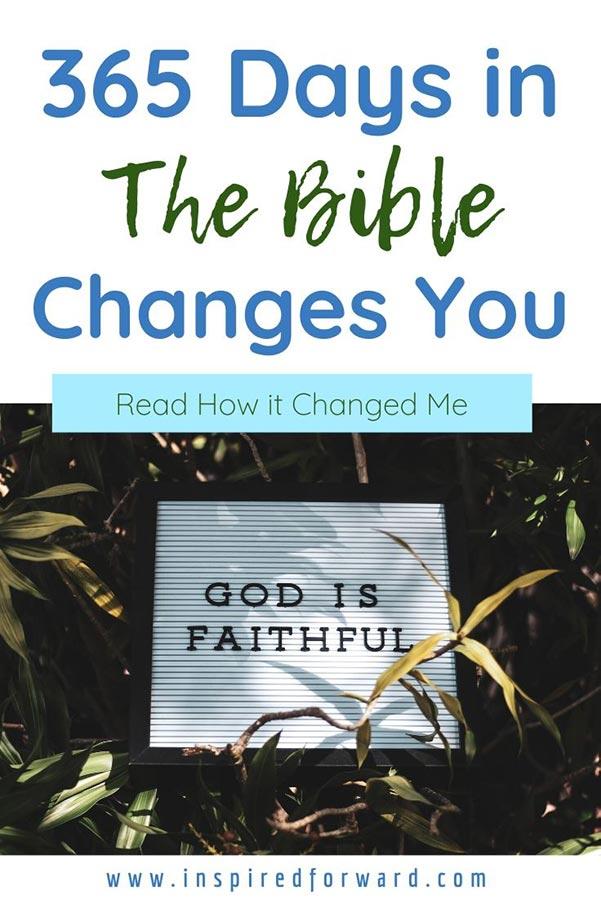How My Faith has Transformed