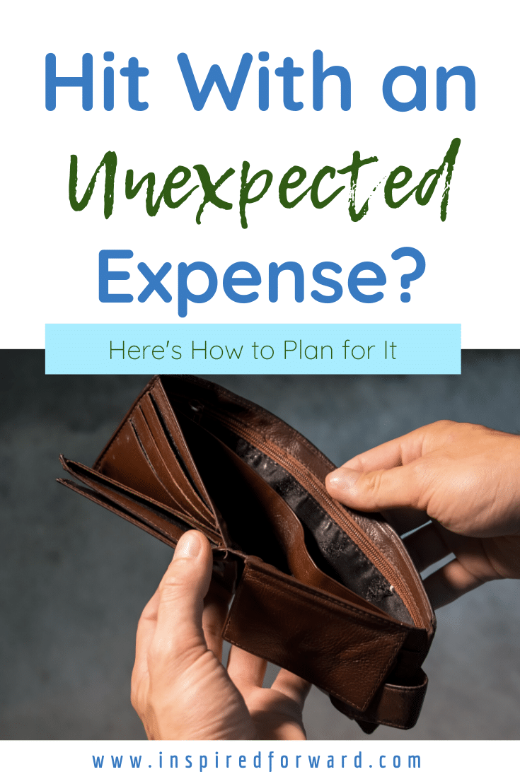 Did something break? Do you need to replace something major? Here's how to plan for unexpected expenses, even if you don't have the emergency fund for it.