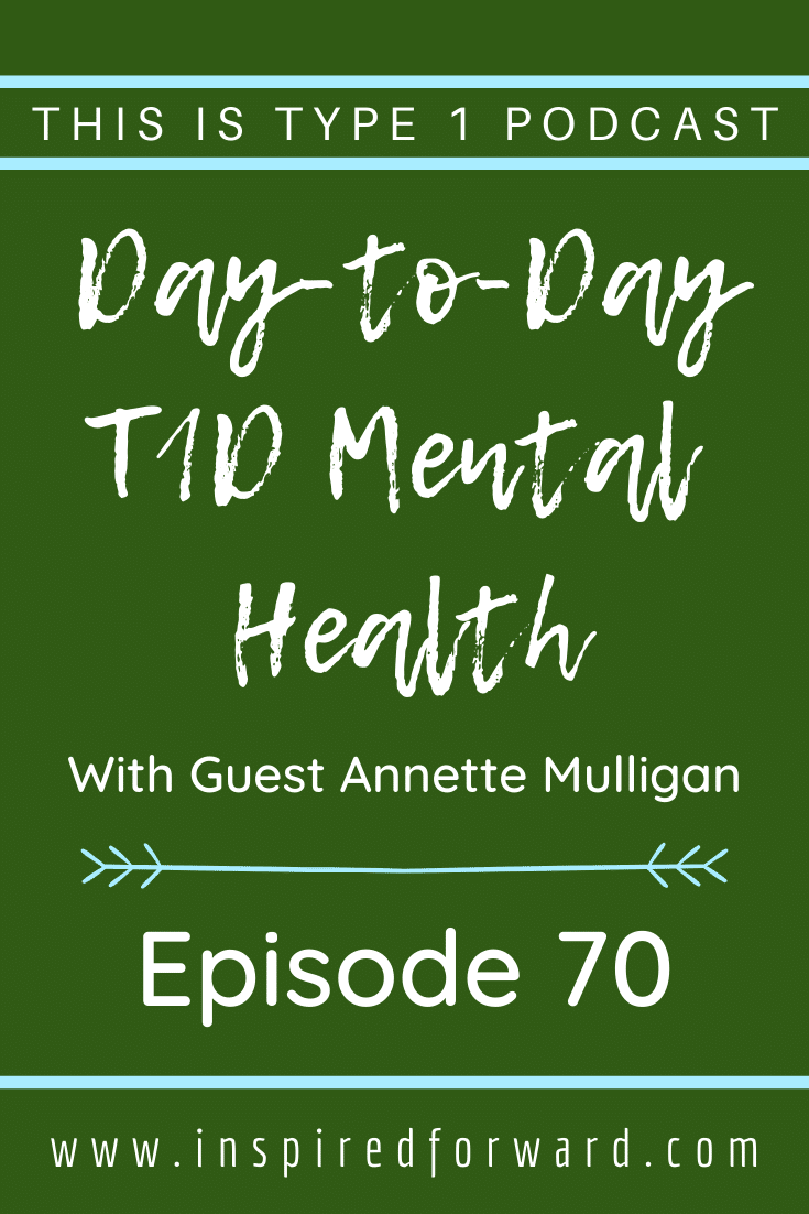 Behavioral wellness coach Annette Mulligan discusses mental health with diabetes. She's committed to guiding living beyond diagnoses.