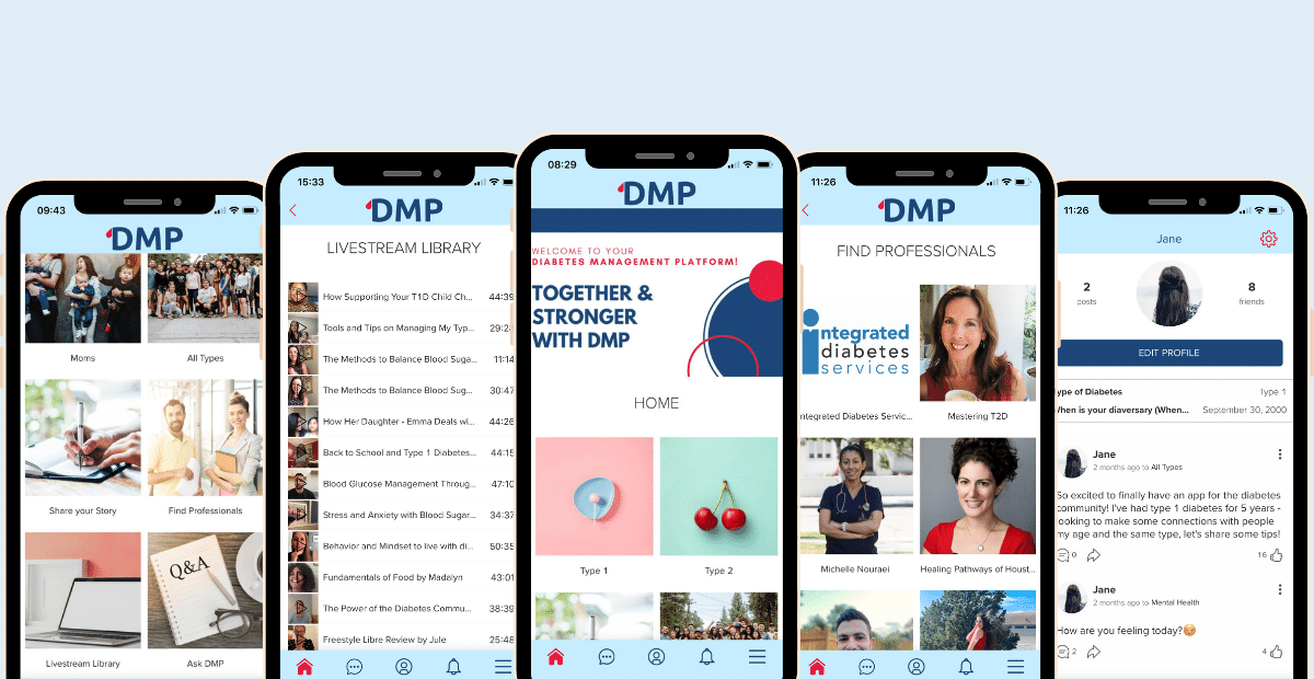 Learn about DMP, the free community Diabetes App.