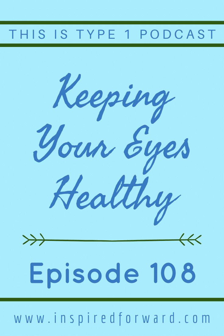 Learn more about eye health for type 1 diabetics and why it's important to have good control over the long term to avoid any complications.