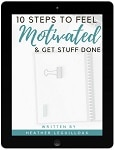 10 Steps to Feel Motivated eBook